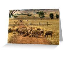 A York Farm Greeting Card