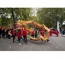 Chinese dragon in the mall London Photographic Print