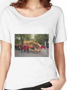 Chinese dragon in the mall London Women's Relaxed Fit T-Shirt