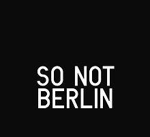 So Not Berlin - Logo Two by sonotberlin