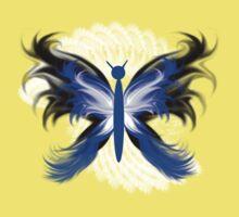 Stylized Butterfly 2 Kids Tee
