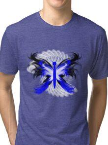 Stylized Butterfly 2 Tri-blend T-Shirt