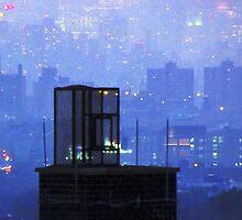 Rooftop magic, New York City  by Alberto  DeJesus