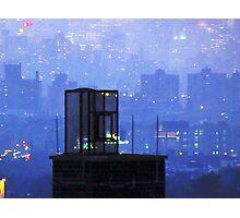 Rooftop magic, New York City  Photographic Print