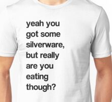 SILVER WHAT? Unisex T-Shirt