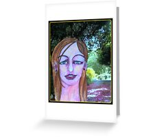 barbArt Hay Fever Greeting Card