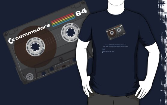 Commodore 64 Cassette Tape Loading... by squidgun