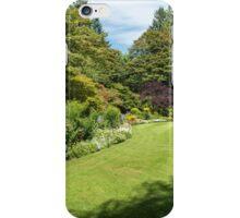 Garden Rooms, Butchart Gardens iPhone Case/Skin