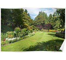 Garden Rooms, Butchart Gardens Poster