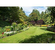 Garden Rooms, Butchart Gardens Photographic Print