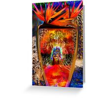 Warrior of Love Greeting Card