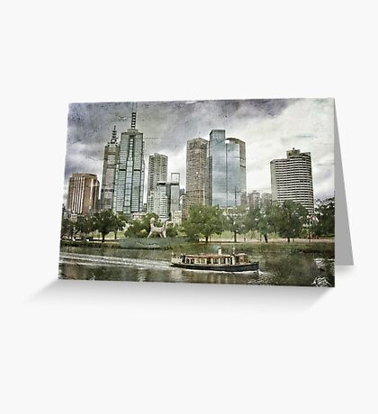 Melbourne - the place to be! Greeting Card