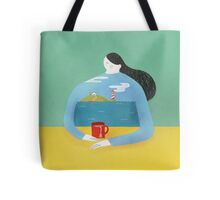 Sea Shirt Tote Bag