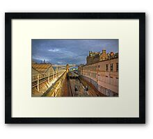 On the Outside Framed Print