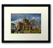 Church and Tower Framed Print