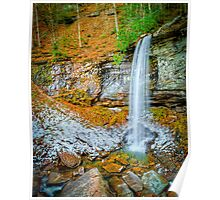 Lower Falls of Hills Creek Poster