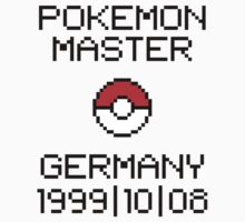 Pokemon Master Germany 1999/10/08 by StillVio