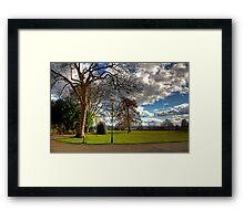 A corner of Pittencrieff Park Framed Print