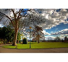 A corner of Pittencrieff Park Photographic Print
