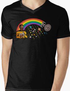 A Trek Anywhere Mens V-Neck T-Shirt