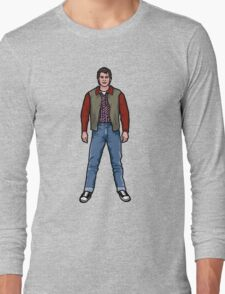 NOW IS THE FUTURE - Marty Mcfly 1955 Long Sleeve T-Shirt