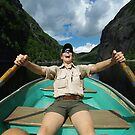 Joy on Avalanche Lake by SAJONES