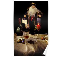 Leave Santa His Treat !! Poster