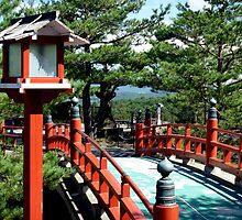 Japanese Bridge by Emma-Louise Bussey