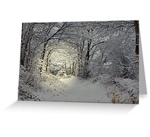 Narnia.....???? Greeting Card