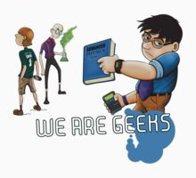 We are geeks light edition Kids Clothes