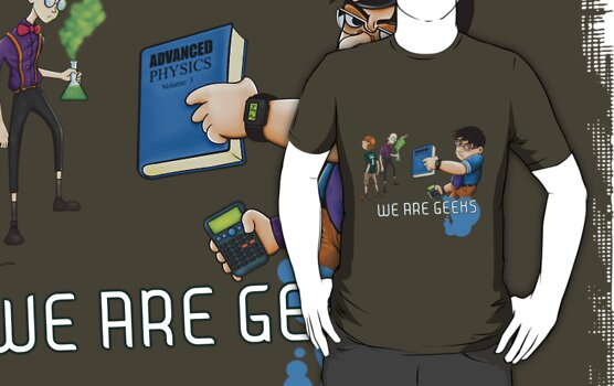 We are geeks light edition by illustratorjr
