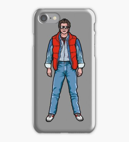 NOW IS THE FUTURE - Marty Mcfly 1985 iPhone Case/Skin