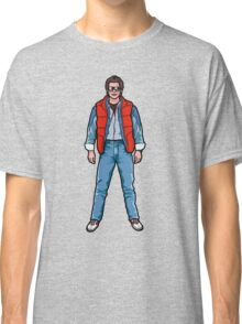 NOW IS THE FUTURE - Marty Mcfly 1985 Classic T-Shirt