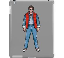 NOW IS THE FUTURE - Marty Mcfly 1985 iPad Case/Skin