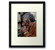Smokin' Call Framed Print
