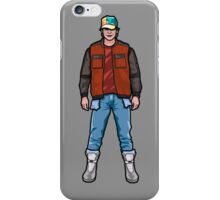 NOW IS THE FUTURE - Marty Mcfly 2015 iPhone Case/Skin