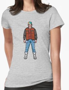 NOW IS THE FUTURE - Marty Mcfly 2015 Womens Fitted T-Shirt