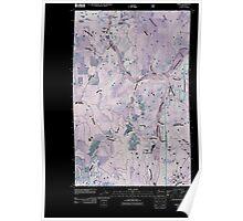 USGS Topo Map Washington State WA Spirit 20110428 TM Inverted Poster