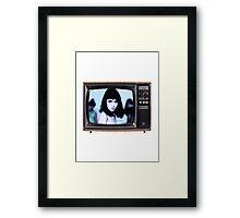Grimes TV Framed Print