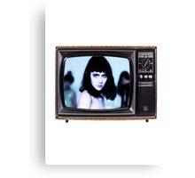 Grimes TV Canvas Print