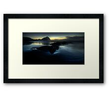 Fading light, O'Neills Beach Framed Print