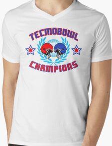 TECMO CHAMPIONS Mens V-Neck T-Shirt