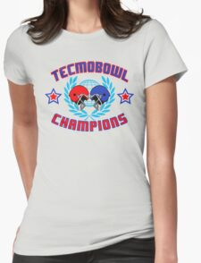 TECMO CHAMPIONS Womens Fitted T-Shirt