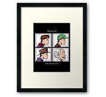 Time Travel Days Framed Print