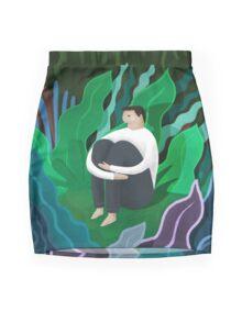 Lost Mini Skirt
