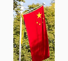 Chinese Flag in the Mall during the state visit of president Xi Jinxing Unisex T-Shirt
