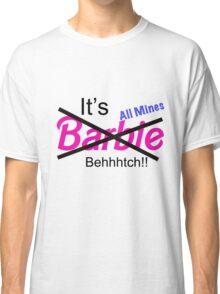 """Not Barbie"" (BLACK) Classic T-Shirt"
