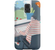 Working Window Samsung Galaxy Case/Skin