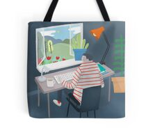 Working Window Tote Bag
