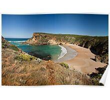 View across the beach at Childers Cove, Victoria, Australia Poster